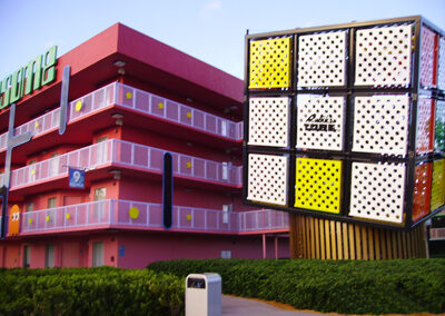 Cubo Rubik Disney pop century resort