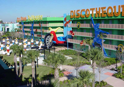 Jardines Disney Pop Century Resort