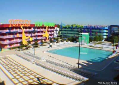 Disney Pop Century Swimming