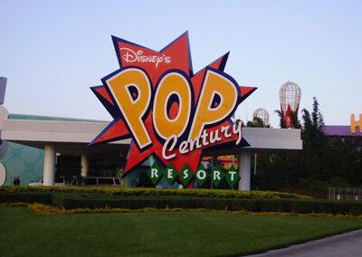 Entrada Disney pop century Resort