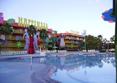 Piscina Disney pop century resort