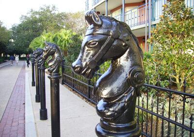 Cabezas de Caballo Disney Port Orleans Resort
