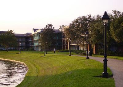 paseo lago Disney Port Orleans Resort