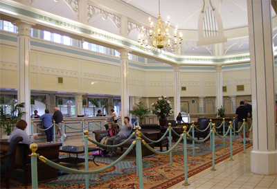 disney port orleans resort lobby