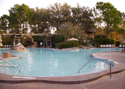 disney port orleans resort swimming pool