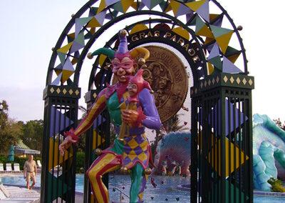 Esculturas Disney Port Orleans Resort