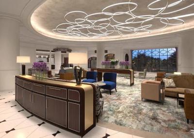 Lobby Disney Riviera Resort