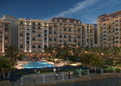 Vista exterior Disney Riviera Resort