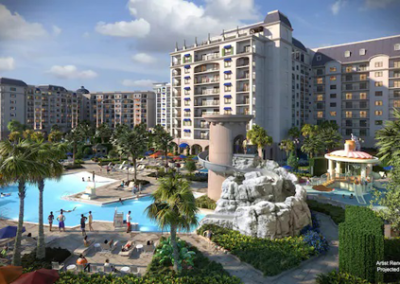 Disney riviera resort swimming