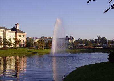 Vista lago disney saratoga springs resort exterior