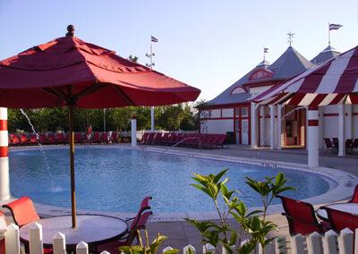 Piscina disney saratoga springs resort exterior