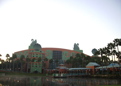 disney swan resort-exterior