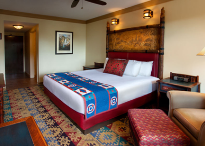 habitación del Wilderness Lodge