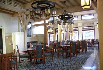 Restaurante del Disney Wilderness Lodge
