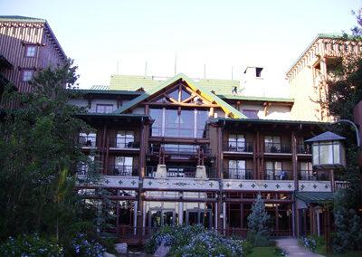 Exterior del Disney Wilderness lodge Resort