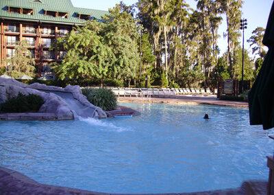 Piscinas del Disney Wilderness Lodge