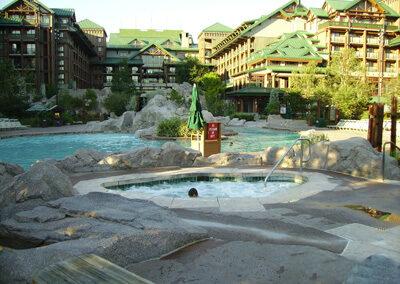 Piscina del Disney Wilderness lodge Resort