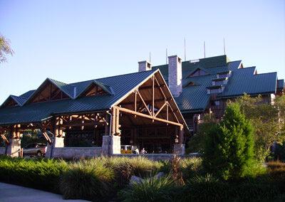 Entrada del Disney Wilderness Lodge Resort