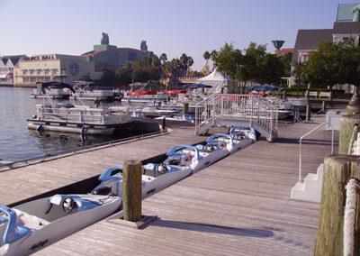 Embarcadero del Disney yacht Club Resort