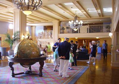 Lobby del Disney Yacht Club Resort
