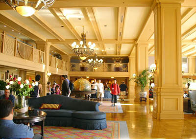 disney yacht club resort lobby