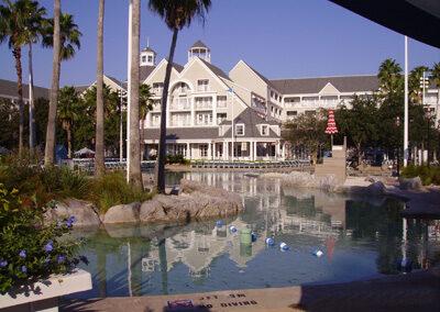 Piscina del Disney Yacht Club Resort