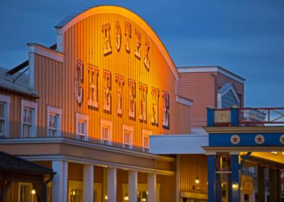 Disney Hotel Cheyenne Entrance