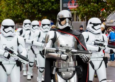 Desfile Temporada de la fuerza Disneyland paris