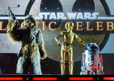 Personajes Star Wars en Disney Studios