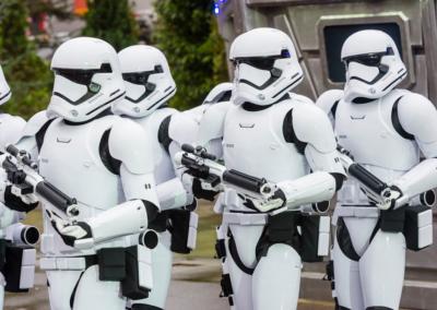 Soldados Imperio Star Wars Disney Studios