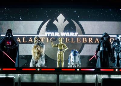Personajes Star Wars en Disney Studios paris