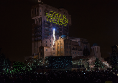Espectaculo Star Wars en Disney Studios Paris