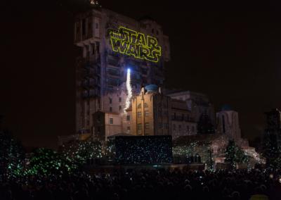 Espectaculo Star Wars en Disney Studios Paris