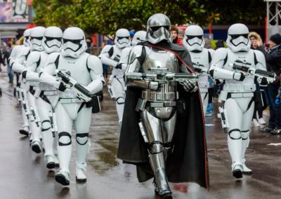 Star Wars Troopers Disney studios paris