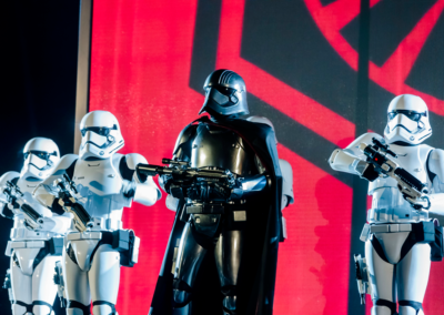 Personajes Star Wars Disneyland paris