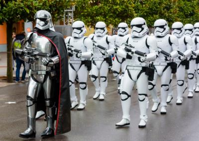 Desfile Troopers Star Wars Disney paris