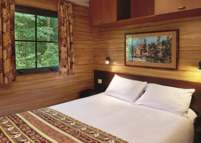 Dormitorio Cabana David Crocket Ranch Disneyland Paris