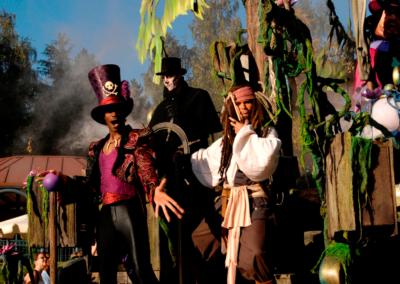 Desfile de Halloween en Disneyland Paris