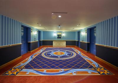 Distribuidor Hotel Disney Newport Bay Club Paris