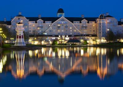 Vista lago Hotel Disney Newport Bay Club Paris
