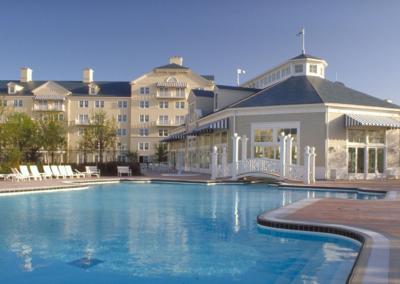 Piscina Hotel Disney Newport Bay Club Paris