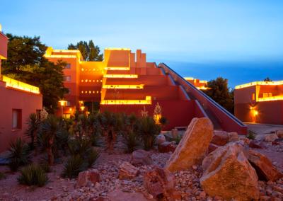 Disney Hotel Santa Fe Exterior