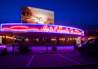 Disney Hotel Santa Fe Entrance