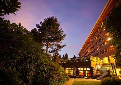 Exterior Hotel Disney Sequoia Lodge Paris