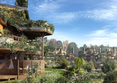 Exterior Villas Cocoon Villages Nature Disneyland paris