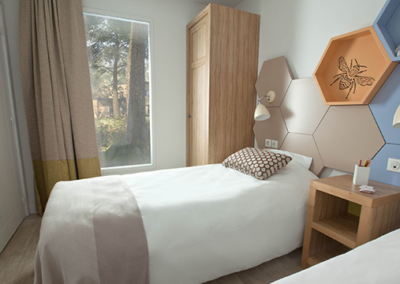 Habitacion dos camas Villages Nature Disneyland paris