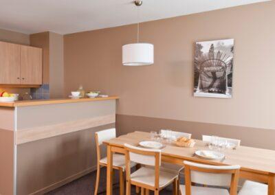 Cocina habitacion Adagio Val Deurope
