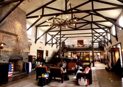 lobby Disney Hotel Cheyenne Paris