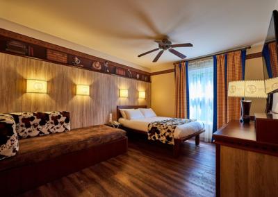 Disney Hotel Cheyenne Cuadruple room