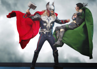 Thor Marvel en Disney Studios Paris